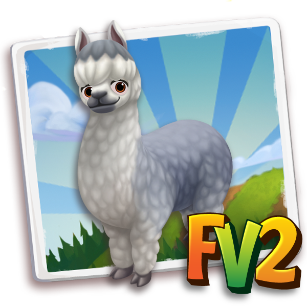 All free Farmville2 alpaca adult silvergrey 600 gifts