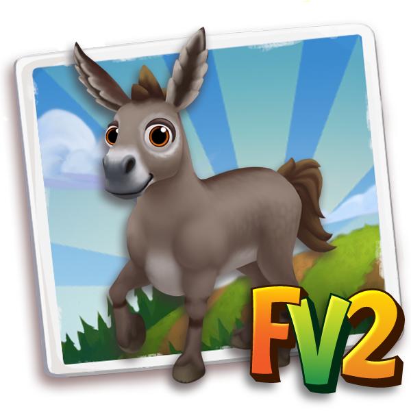 donkey adult provence 600